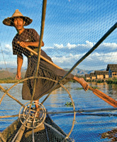 Inle Lake Myanmar photo